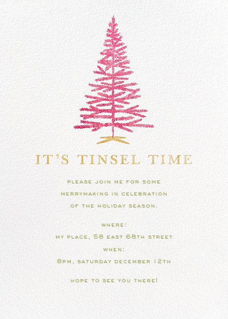 Tinsel Time - kate spade new york - Christmas party