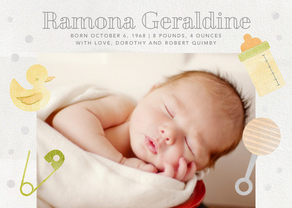 Shake, Rattle, and Roll - Green - Paperless Post - Birth