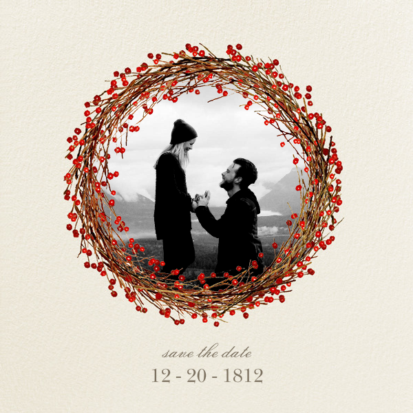 Cranberry (Save the Date) - Felix Doolittle - Save the date