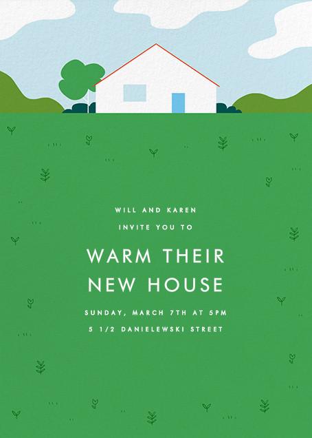 This Suburban Life - Green - Paperless Post