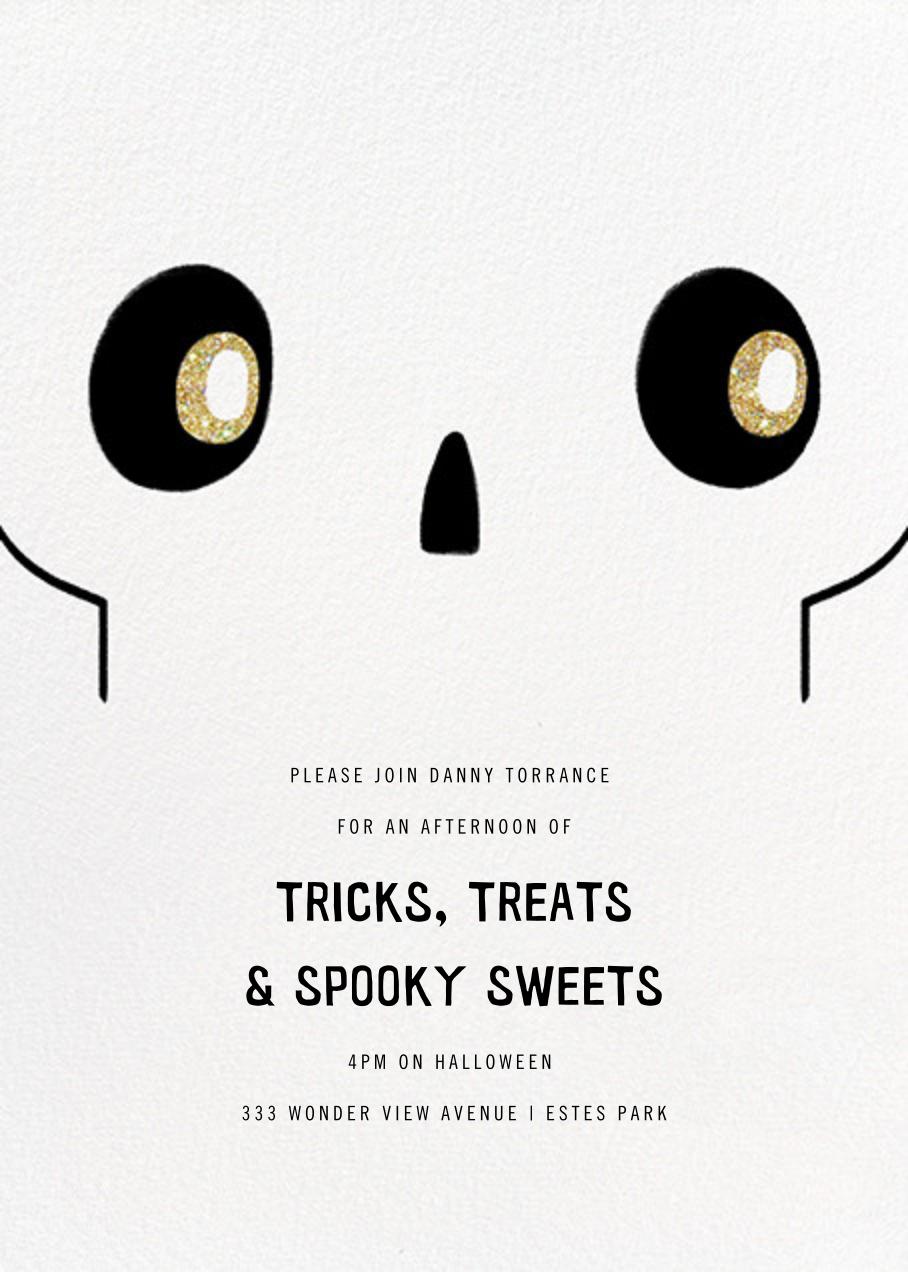 No Bones About It - Paperless Post - Kids' Halloween invitations