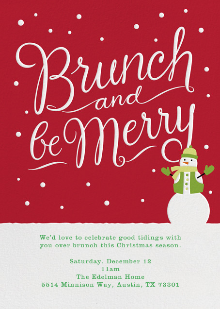 Brunch and Be Merry - Crate & Barrel - Brunch