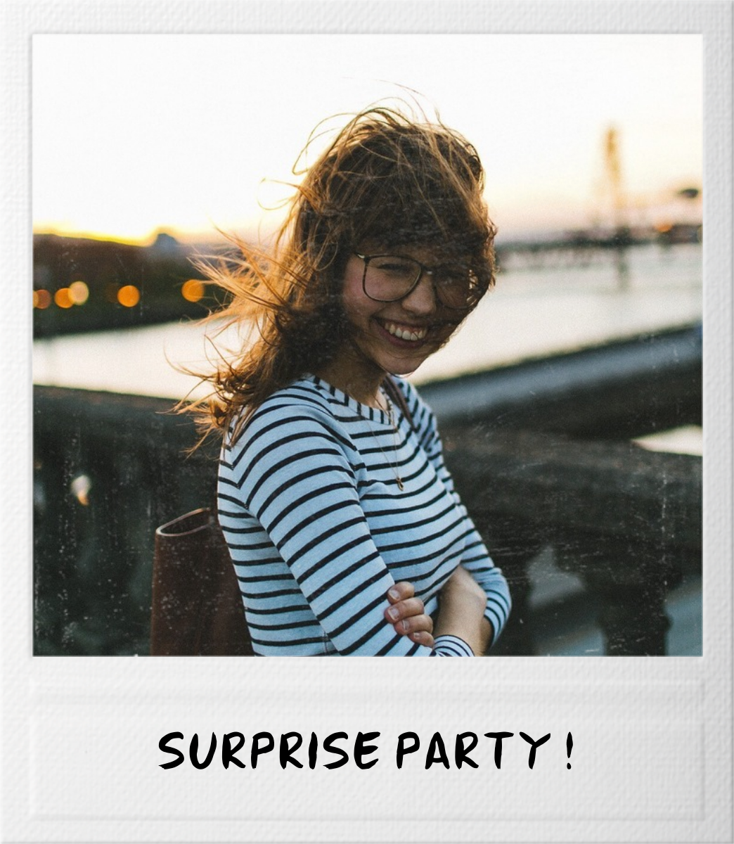 Snapshot - Double Sided - Paperless Post - Adult birthday