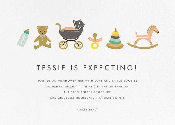 The Baby Basics - Rifle Paper Co. - Baby shower
