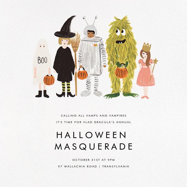 Little Treats - Rifle Paper Co. - Kids' Halloween invitations