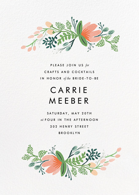 Primrose Garland  - Rifle Paper Co. - Bridal shower