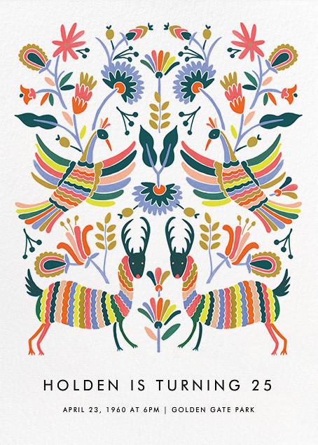 Otomi Wildlife (Tall) - Rifle Paper Co. - Adult birthday