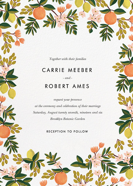 Paperless Wedding Invitations as beautiful invitation template