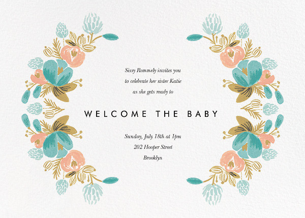 Classic Garland - Rifle Paper Co. - Baby shower