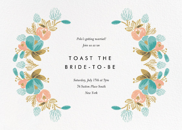Classic Garland - Rifle Paper Co. - Bridal shower