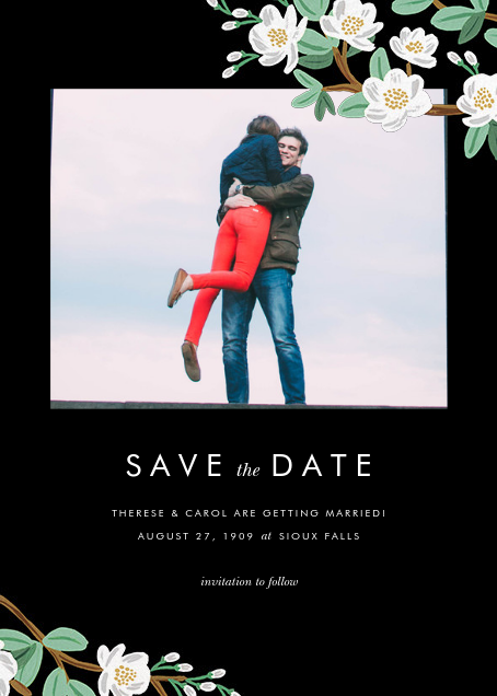 Tea Tree (Photo Save the Date) - Rifle Paper Co. - Save the date