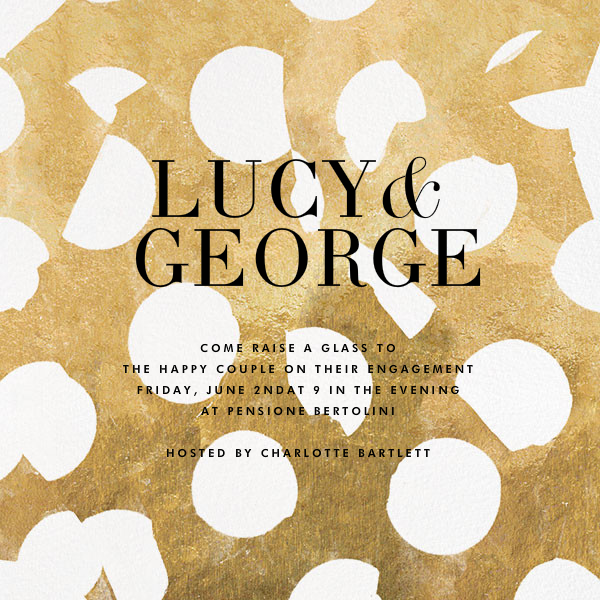 Ingenue - Gilded - Kelly Wearstler - Engagement party