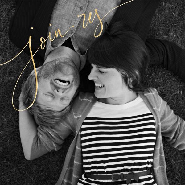 Join Us (Photo) - Gold - Linda and Harriett - Photo