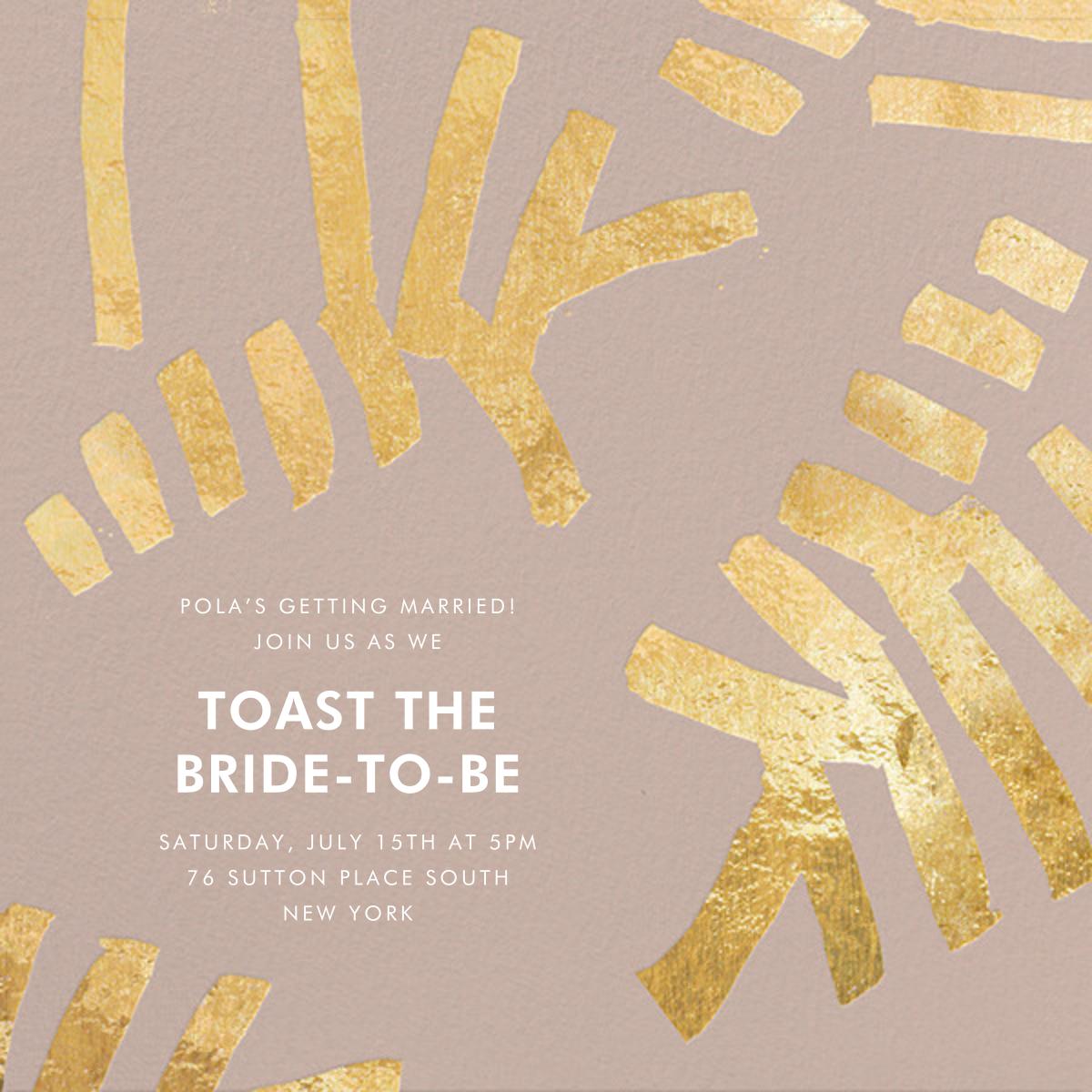 Sonnet - Rose/Gold - Kelly Wearstler - Bridal shower