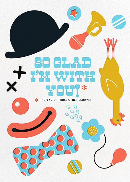 Clowning Around - Hello!Lucky - Love cards