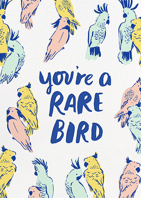 Rare Bird - Hello!Lucky - Thank you