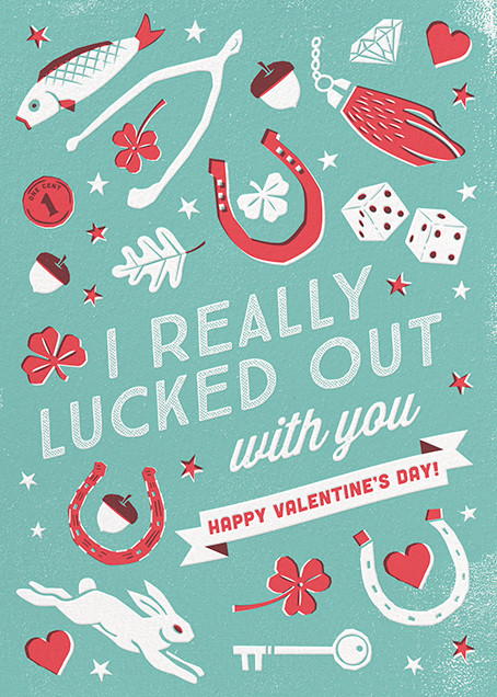 Lots of Luck - Hello!Lucky - Love cards