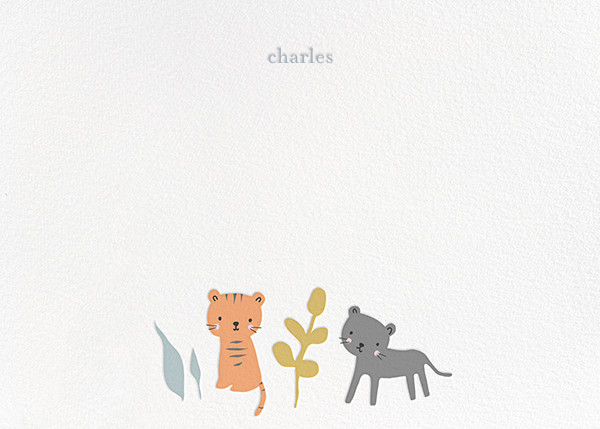Tiggy and Jet - Little Cube - Kids' stationery