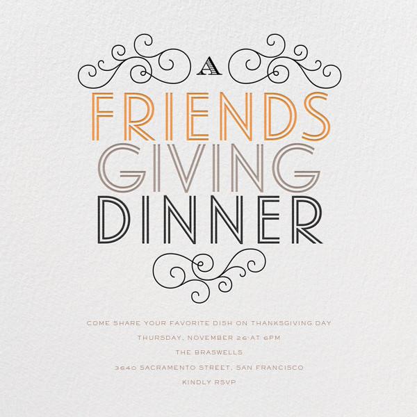 Friendsgiving Dinner - bluepoolroad - Thanksgiving