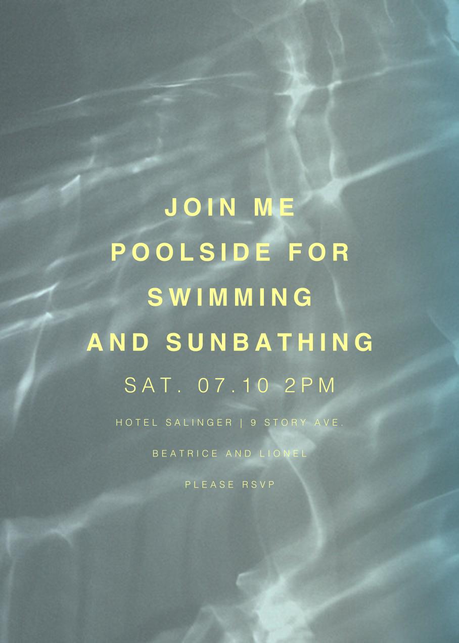 Pasadena, 1pm - Blue - Paperless Post - Shadowplay
