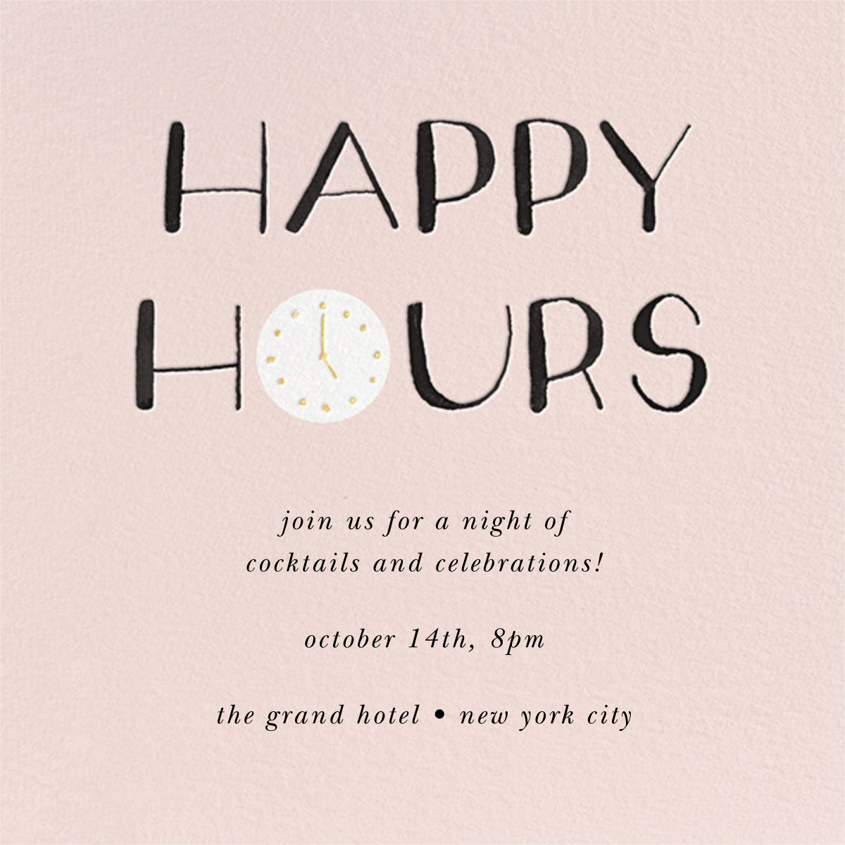 The Happiest Hour - kate spade new york - Cocktail party