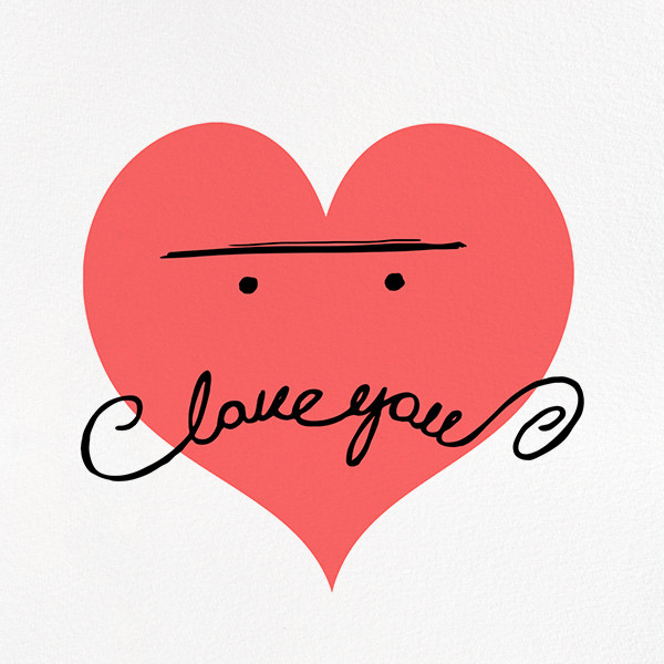 Mustache Love - Paperless Post - Anniversary cards