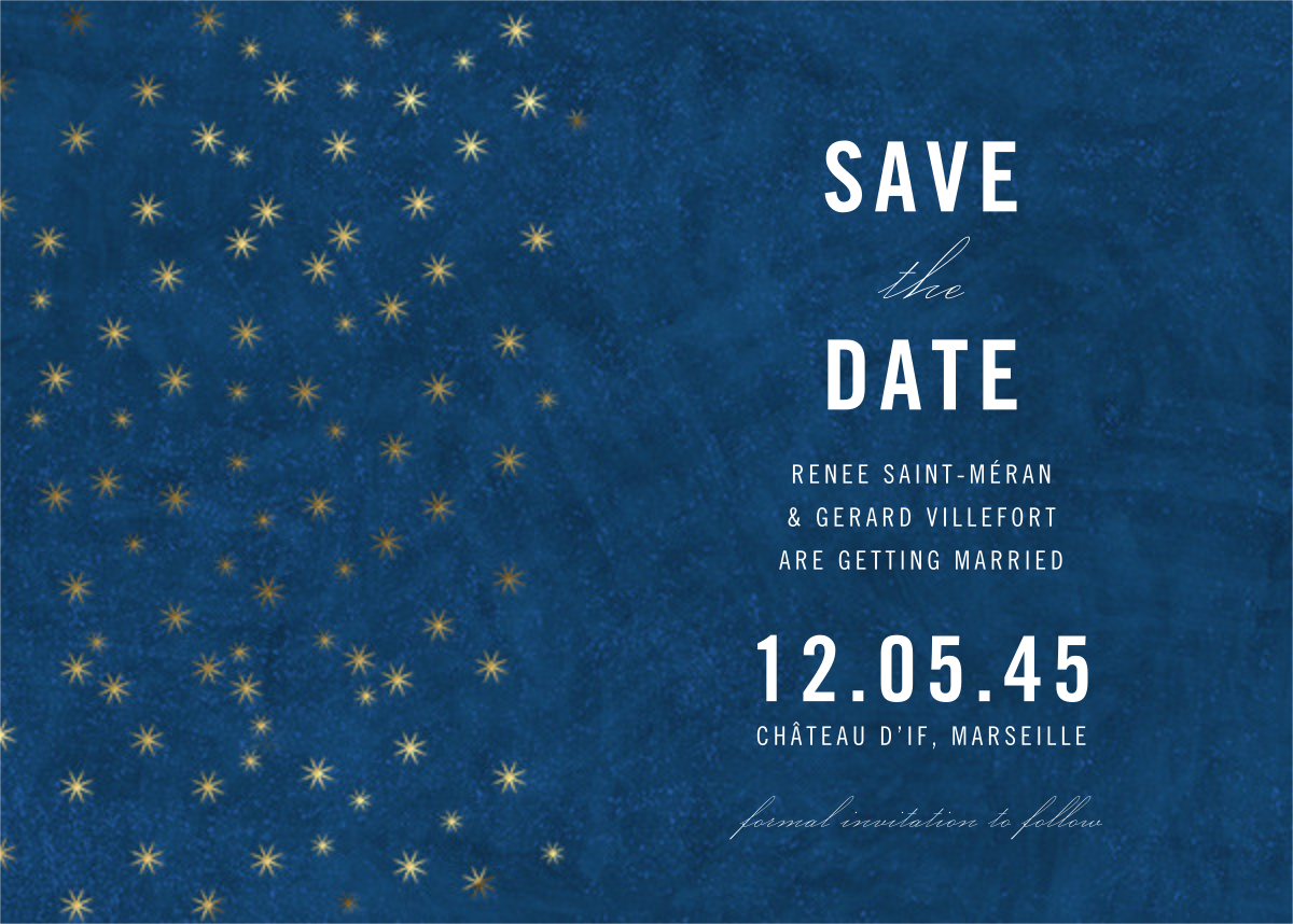 Celeste (Save the Date) - Paperless Post - Save the date