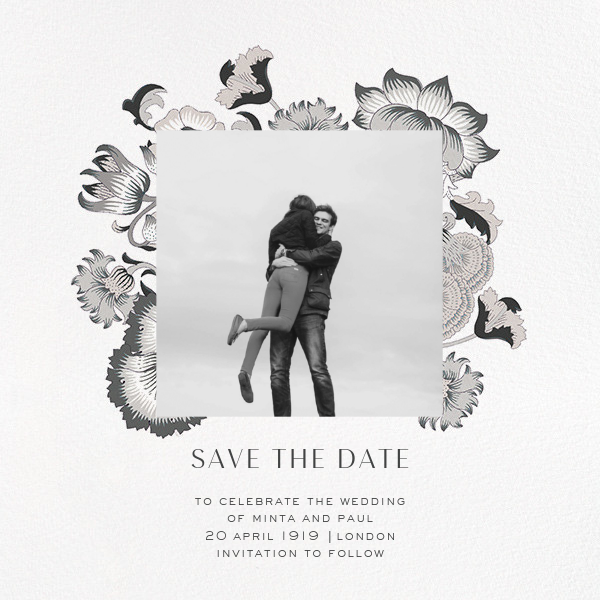 Lodden (Photo Save the Date) - Gray - Liberty - Photo