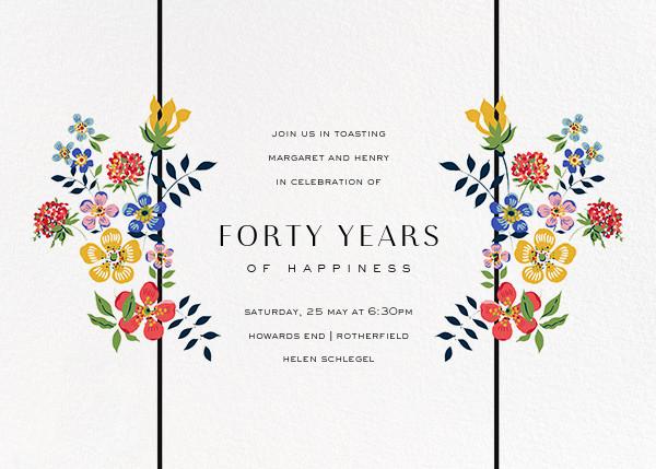 Edenham - Ivory - Liberty - Anniversary party