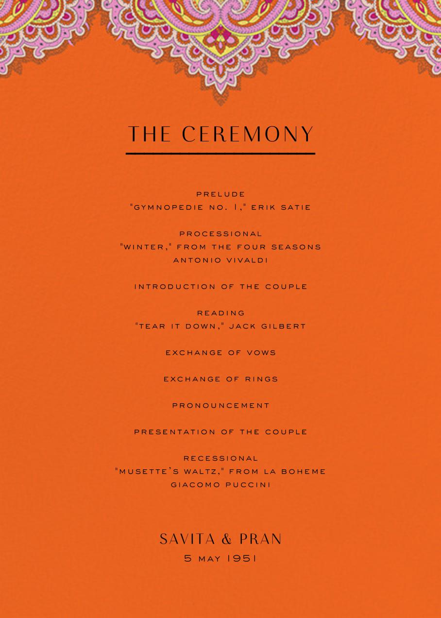 Lord Paisley Tana (Program) - Liberty
