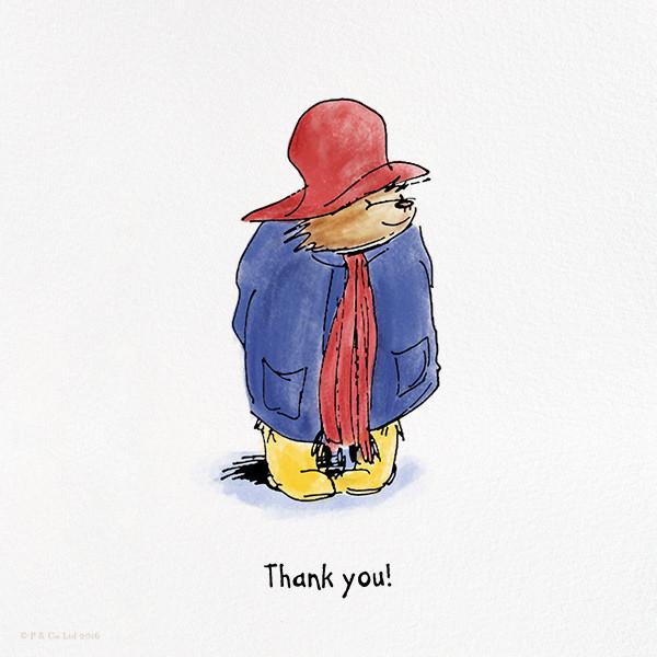 Presenting Paddington (Thank You) - Paddington Bear - Thank you