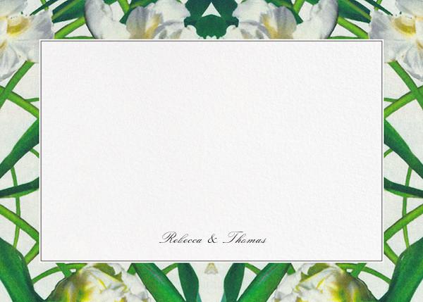 Parrot Tulip (Stationery) - Oscar de la Renta - Personalized stationery