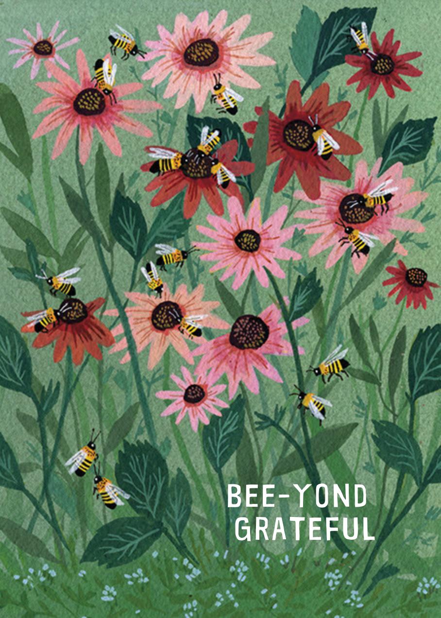Beeyond Grateful (Becca Stadtlander) - Red Cap Cards - Thank you