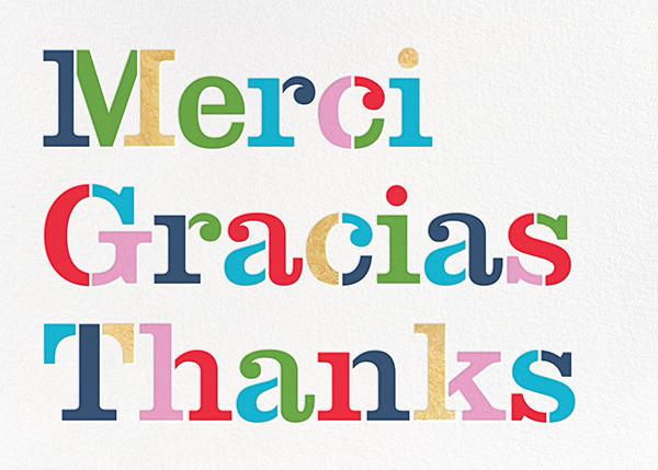 Merci - kate spade new york - Thank you
