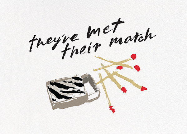 Met Their Match - kate spade new york - Engagement party
