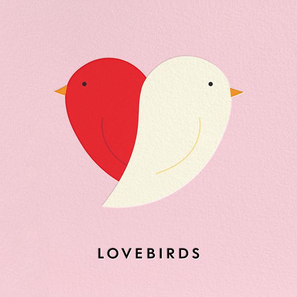 Lovebirds - kate spade new york - Anniversary cards