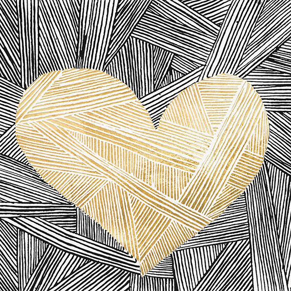 Contour - Gold - Kelly Wearstler - Romantic valentines