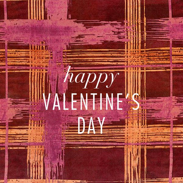 Different Strokes - Crimson - Kelly Wearstler - Valentine's Day