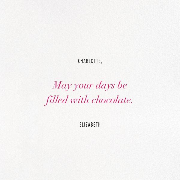 Different Strokes - Crimson - Kelly Wearstler - Valentine's Day - card back
