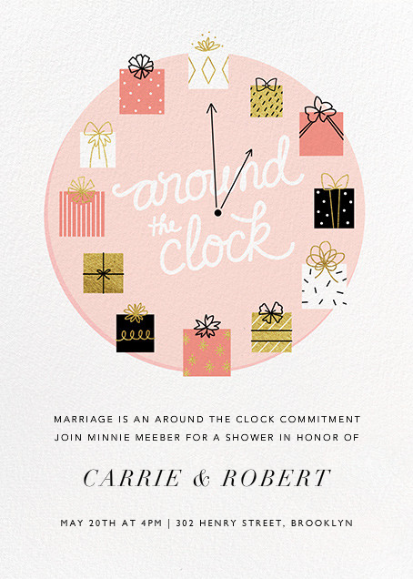 Gifting Hour - Paperless Post - Bridal shower