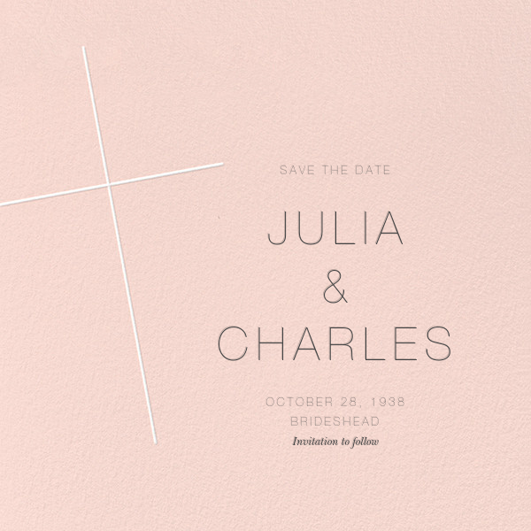 Faithful (Save the Date) - Meringue - Paperless Post - null