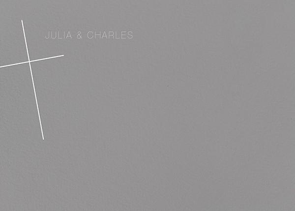 Faithful (Stationery) - Gray - Paperless Post - Personalized stationery
