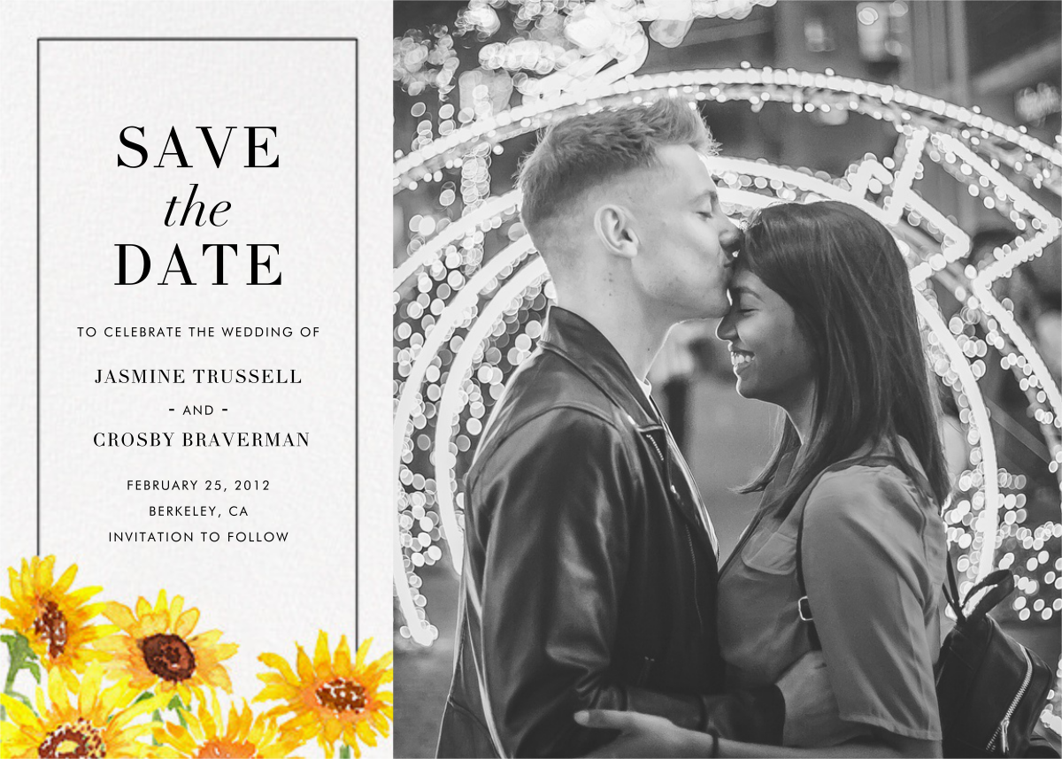 Heirloom (Photo Save the Date) - Paperless Post - Photo