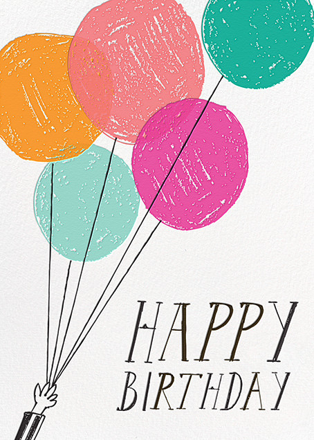 Vanilla or Chocolate Cake (Greeting) - Mr. Boddington's Studio - Birthday