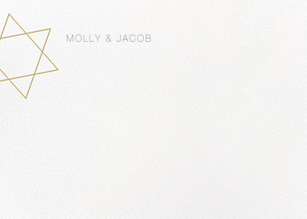 Nissuin (Stationery) - Millet - Paperless Post - Personalized stationery