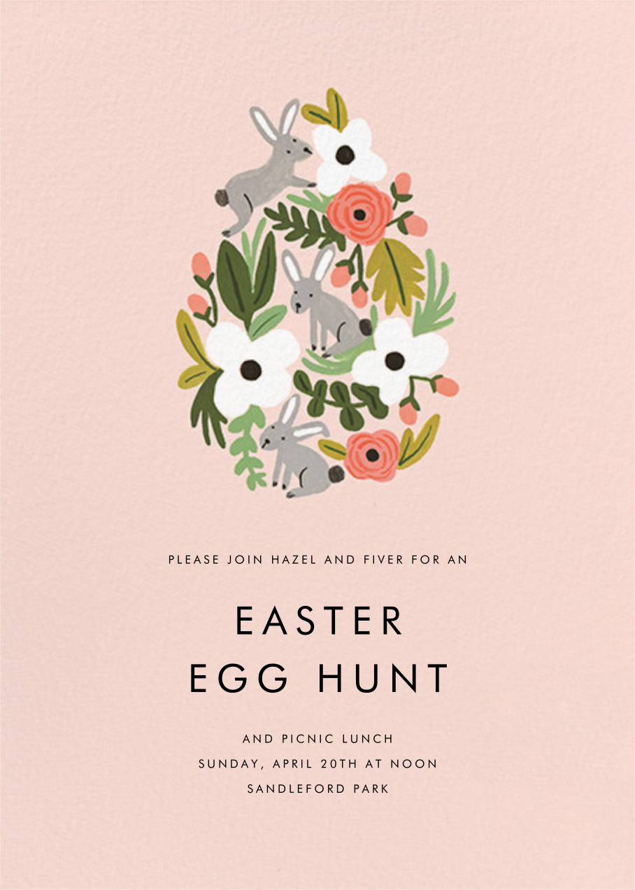 The Rabbit or the Egg - Meringue - Rifle Paper Co. - Easter