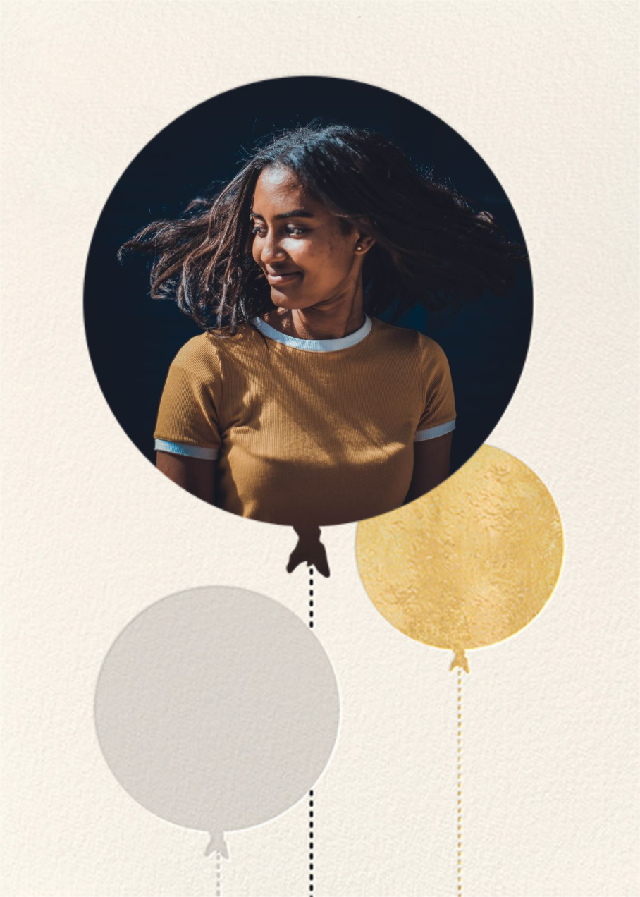 Balloon Birthday (Photo) - Gold - kate spade new york - Adult birthday