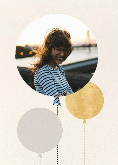 Balloon Birthday (Photo) - Gold - kate spade new york - Designs we love
