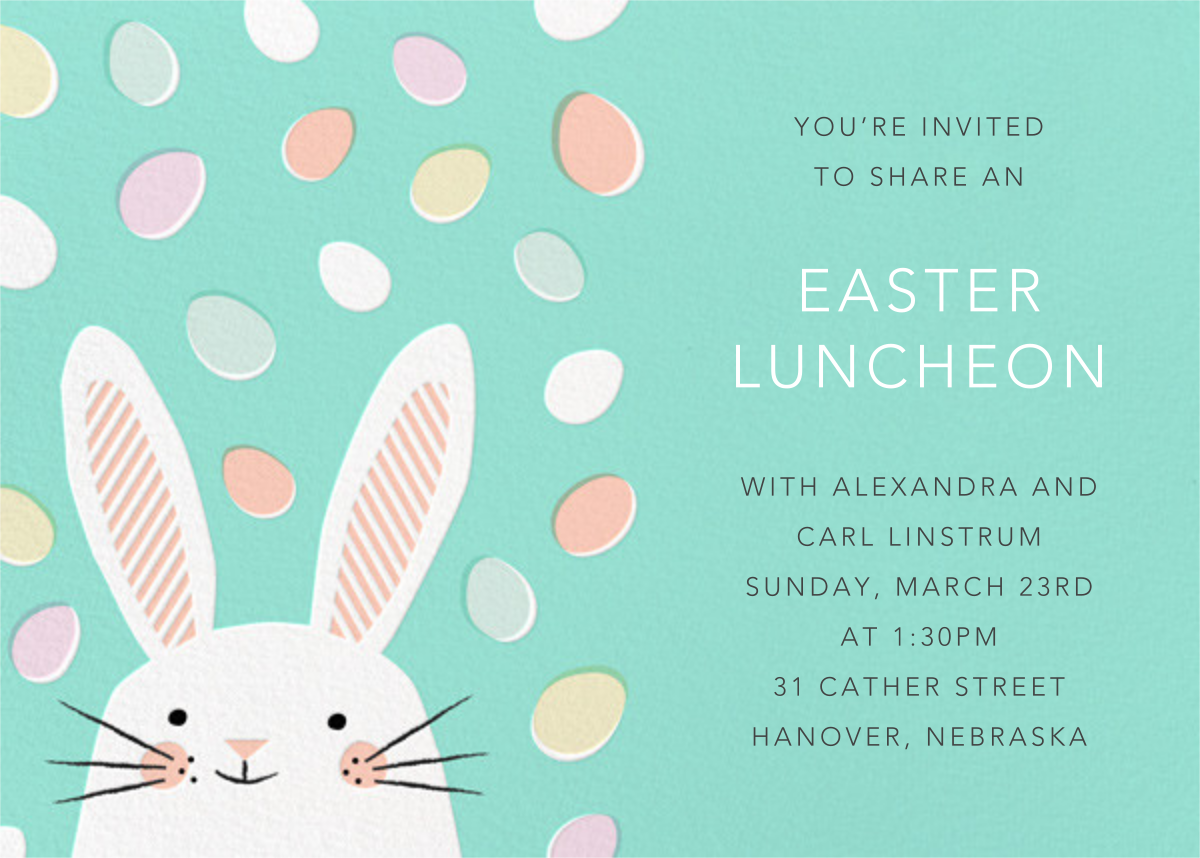Easter Jellies (Invitation) - Hello!Lucky - Easter