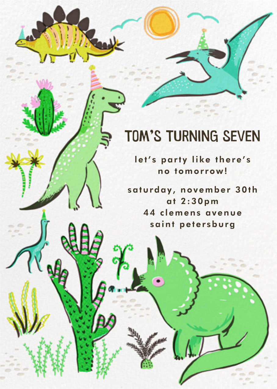 Jurassic Party - Hello!Lucky - Kids' birthday